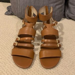 Michael Kors Leather Sandals